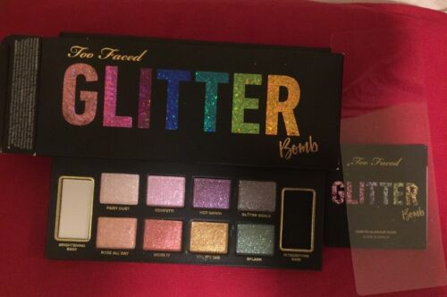 Too Faced Prismatic Glitter Bomb Eyeshadow Collection