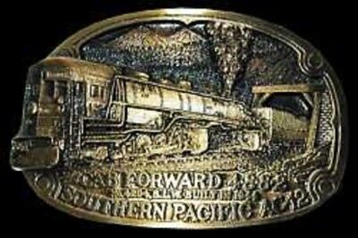 SOUTHERN PACIFIC CAB FORWARD 4294 (SOLID BRONZE BELT BUCKLE) #276/500R
