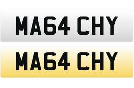 MA64 CHY - MALACHY Cherished Personal Registration Number Plate On Certificate ready to transfer