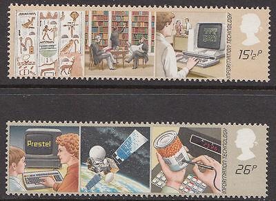 GB MNH STAMP SET 1982 Information Technology SG 1196-1197 UMM