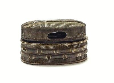 Fuchi, Kashira for tsuka Shinken Iaito iaido katana Japanese sword fittings GBOO