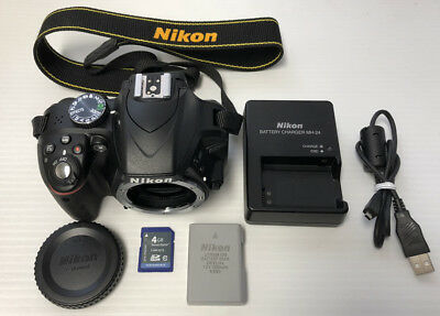 Nikon D3300 24.2MP Digital SLR Camera Body Only Bundle