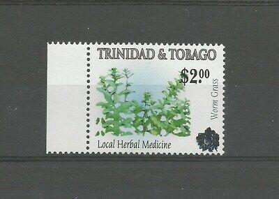 NEW! Trinidad and Tobago 2021 Overprint: $2 on 2005 75c Worm Grass, MNH.