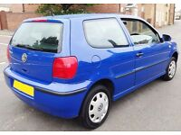 2001 Volkswagen Polo 1 Litre 3 Door Cheap Insurance Low Mileage learner car corsa yaris micra clio