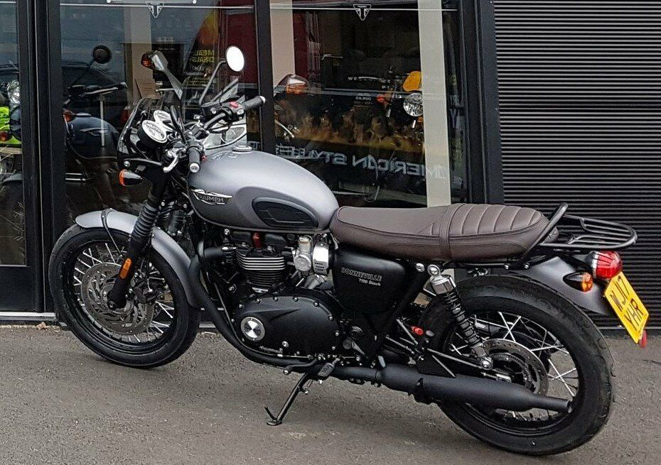 Triumph T120 Bonneville 2017 In Plymouth Devon Gumtree