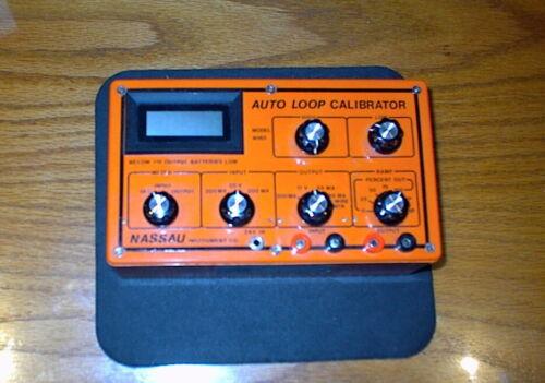 nassau instrument co. 4060  ma mv auto loop calibrator