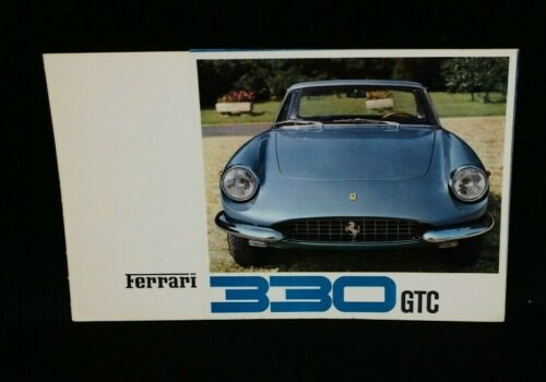 Original Ferrari 330 GTC Brochure