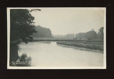 Gloucester Glos GREAT BARRINGTON The Windrush Used 1933 RP PPC