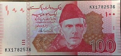 Pakistan  100 Rupees  2013  Pick 57 New  Unc