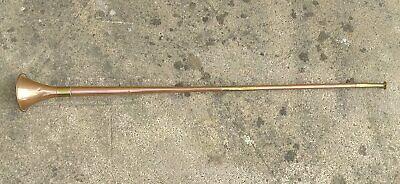 Hunting Horn Brass & Copper