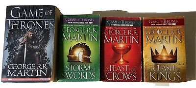 A Song Of Ice And Fire Book Set! Game Of Thrones By George R R Martin