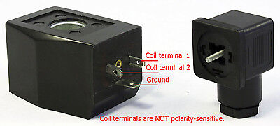 Solenoid Coil 24v Dc Vdc For Ace Crew Brass Normally Open Electric Valve