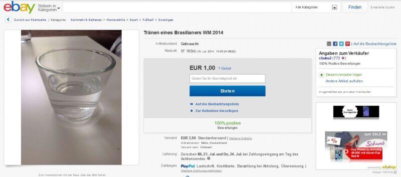 Was bietest Du für ein Glas echter brasilianischer Tränen (ebay, cbubu2)