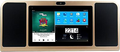 Azpen A770 Boombox with Tablet with Dual 5 Watts Bluetooth Speakers HD Display  for sale  Shipping to South Africa