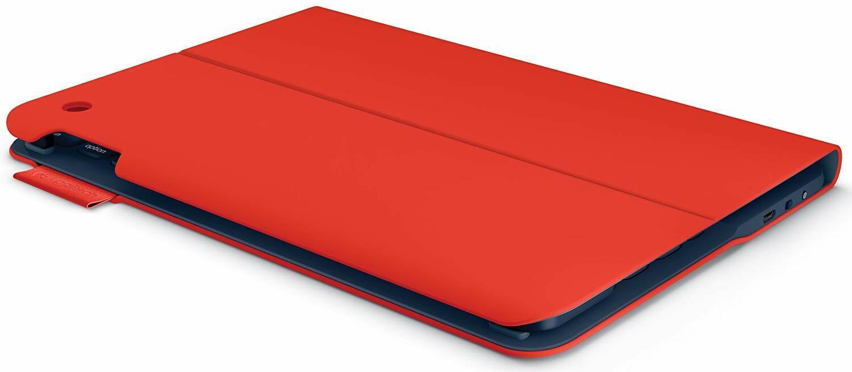 Logitech Ultrathin Keyboard Folio for iPad 5, Mars Red Orang