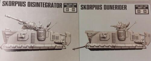 Warhammer 40k Adeptus Mechanicus Skorpius Dunerider / Disintegrator NOS