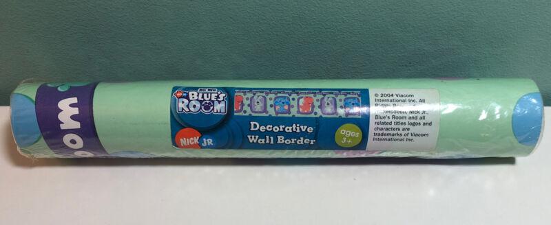 Nick Jr Blues Clues Kids Wallpaper Wall Border 5 yd  1Sealed Roll New