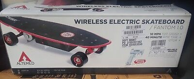 Altered Wireless Electric Skateboard/ Fantom 1.0 with Wireless Controller