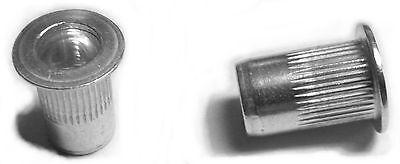 Rivet Nuts 6-32 Aluminum 25pc Buy 3 Or More 10 Rebate Rivnut Riv Nut Nutsert