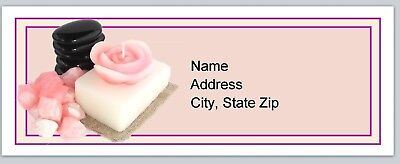Personalized Address labels Spa Candles Aroma therapy Buy 3 get 1 free (p 146)