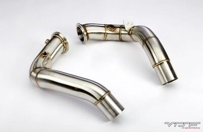 """VRSF 3"""" Stainless Steel Catless Downpipes S63 11+ BMW M5 & M6"""