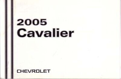 2005 Chevrolet Cavalier Owners Manual User Guide Reference Operator Book Fuses Chevrolet Cavalier Owners Manual