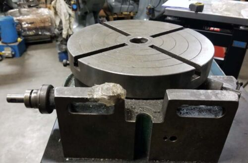 "Universal Indexing 12"" Rotary Table Vertical or Horizontal, Inv 41702"
