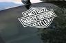 Harley Davidson Logo Cutz Rear Window Decal, Motorcycle Truck Car Sticker - LW