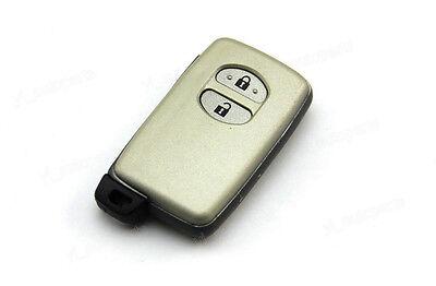 Remote Prox Smart Key Shell Case FOB For Toyota Camry Highlander Prado 2 Buttons