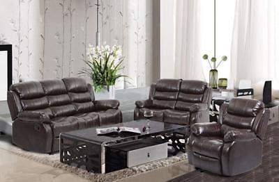 New Recliner Sofa Set Sectional Reclining Chair Modern Furniture Love Seat