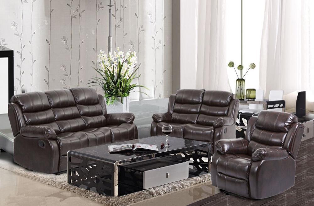 New Recliner Sofa Set Sectional Reclining Chair Modern Furni