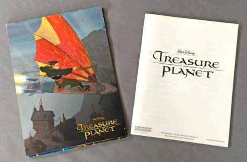Treasure Planet - Fold Out Press Kit and Movie Synopsis Booklet