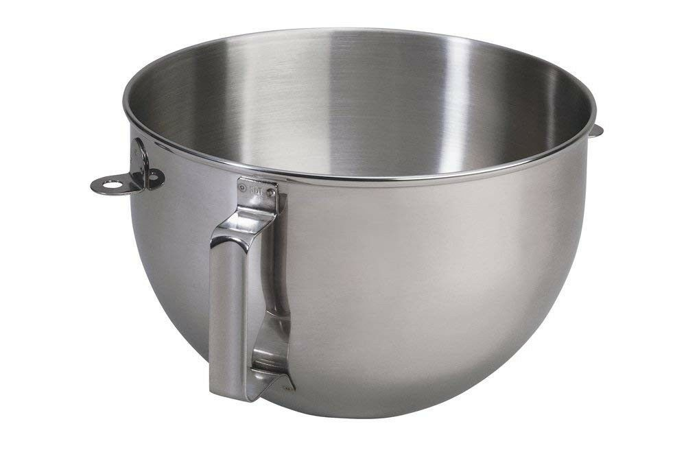 KN25WPBH KitchenAid 5qt Polished Stainless Steel Mixer Bowl