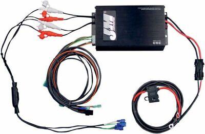 J&M Performance Series 4 Channel Amplifier Kit Universal Amp 98-13 Harley Bagger