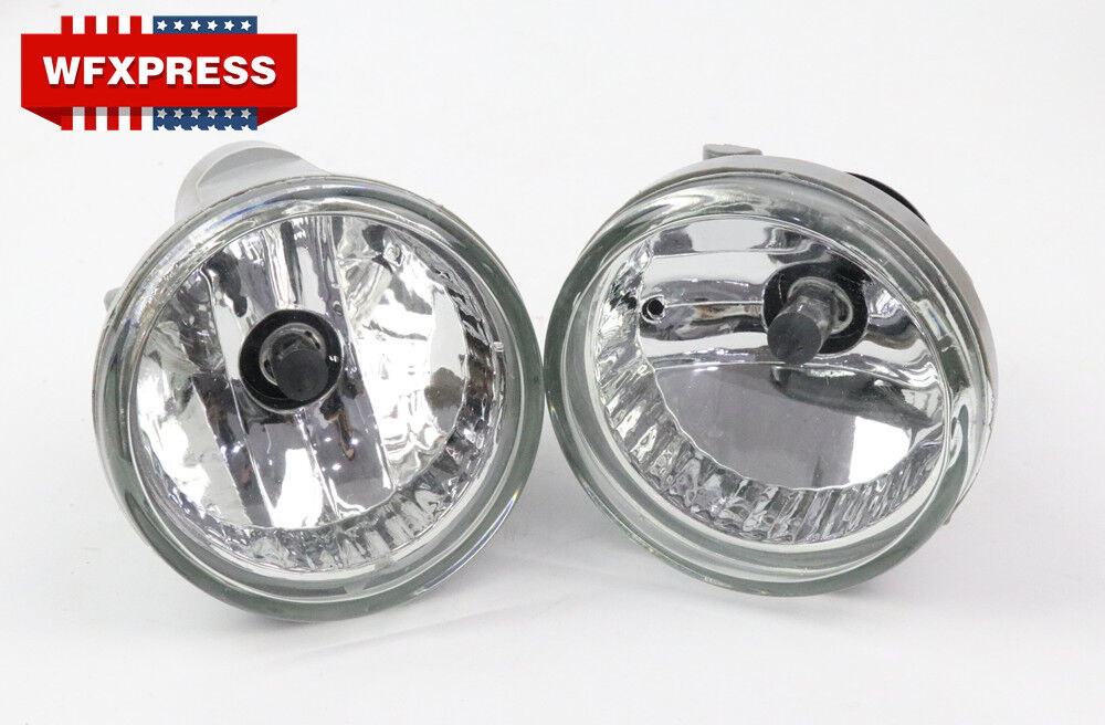 CLEAR LENS FOG LIGHT LAMPS+SWITCH LH+RH FOR 05-10 SCION TC 03-08 TOYOTA MATRIX