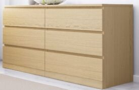 as NEW 6 Drawer Chest