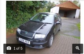SKODA FABIA 1.4 AMBIENTE 16V VERY LOW MILAGE EXCELLENT CONDITION
