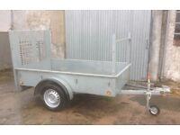 7x4 Bronis car trailer