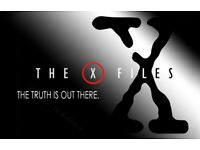 All 9 original x files seasons on vhs