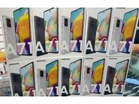 Samsung galaxy A71 unlocked New box All colours available Open on all sim