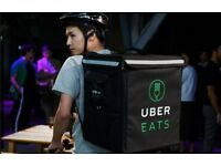 Brand New UBER EATS delivery backpack