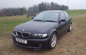 Black BMW 3 SERIES 318i SPORT 4dr Manual 2.0 Petrol