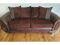DESIGNER DFS 3 SEAT SOFA WITH ALL CUSHIONS