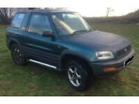 Toyota Rav 4 4x4 Green Lane Automatic