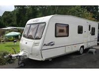 Bailey Pageant Provence 2005 5 Berth Caravan + Full Awning
