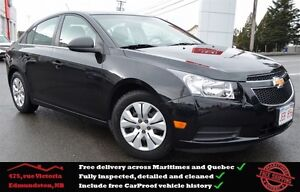 2012 Chevrolet Cruze LS, iPod Jack, Low Mileage, One Owner !!