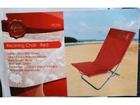Redwood Leisure Red Reclining Chair