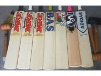CRICKET BATS PADS GLOVES HELMET FULL KIT NEW used HALF PRICE 50% OFF SALE Delivery