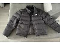 GIRLS LARGE JUNIOR NORTH FACE PUFFER JACKET