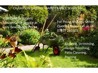CGM Garden Maintenance Services (Lawn Mowing, Strimming etc)